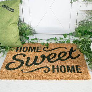 """""""Home sweet Home"""" door mat"""